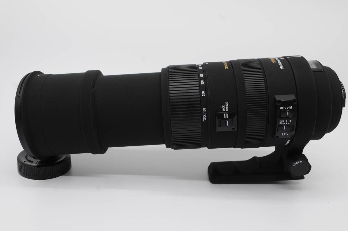 1円~★極上美品★ SIGMA シグマ APO 150-500mm F5-6.3 DG OS HSM 元箱 付属品一式 Nikon ニコン用_画像5