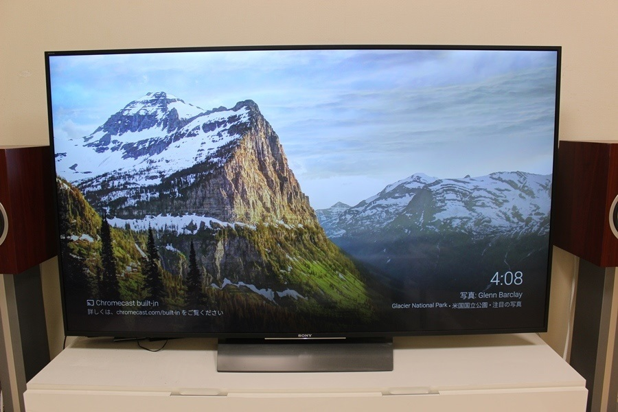 SONY 4K液晶テレビ ブラビア KJ-65X8500D ソニー 2017年購入 65インチ_画像3