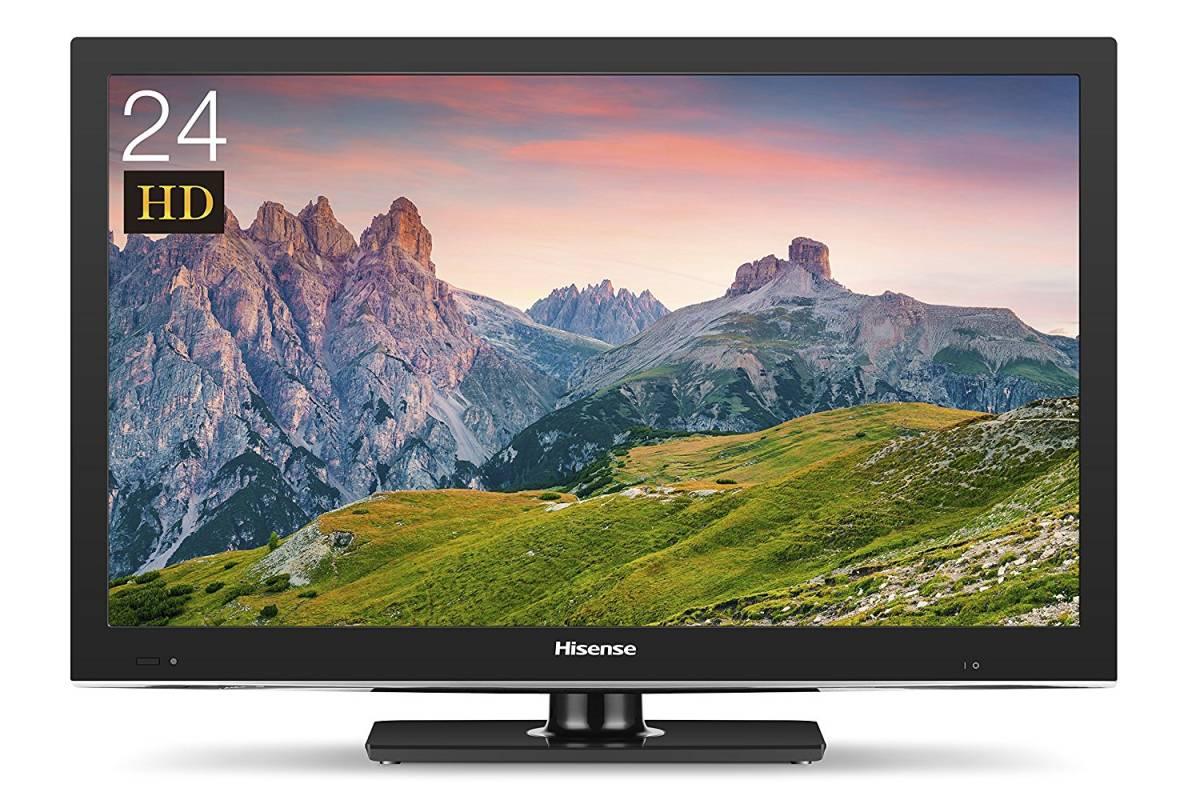 ハイセンス HS24A220 24V型 地上・BS・110度CSデジタル ハイビジョン液晶テレビ Hisense 【展示品】