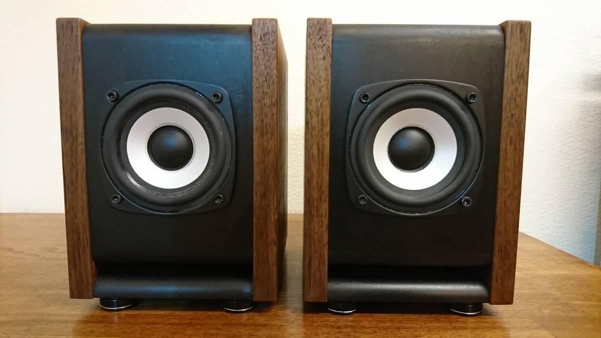 自作 DIY Audio SA/F80AMG BS-8 ウォルナット ペア_画像7