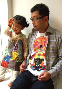 新品 ほぼ日 × 秋山具義 限定 Tシャツ シリアルナンバーカード付き 糸井重里_画像2