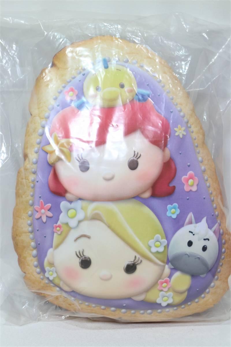 MM4★クッション★一番くじ ディズニーツムツム プリンセス クッキー◆40cm_画像1
