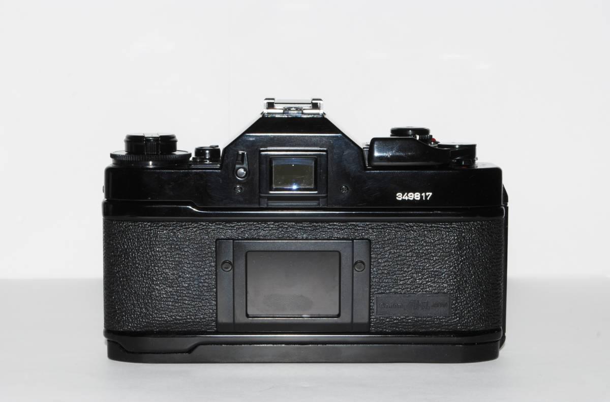 canon キヤノン A-1 、New FD50mmF1.8レンズ付き 稼動品 シャッター鳴きなし_画像2