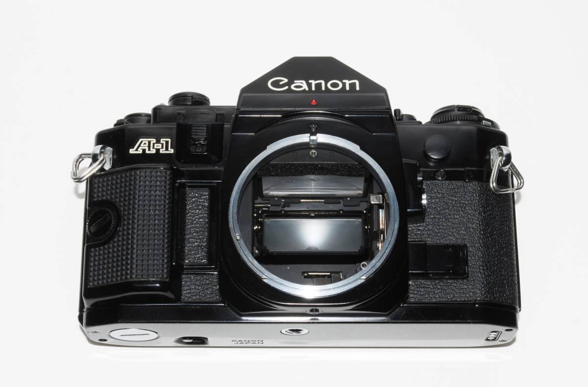 canon キヤノン A-1 、New FD50mmF1.8レンズ付き 稼動品 シャッター鳴きなし_画像5