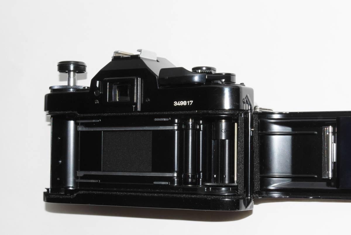 canon キヤノン A-1 、New FD50mmF1.8レンズ付き 稼動品 シャッター鳴きなし_画像3