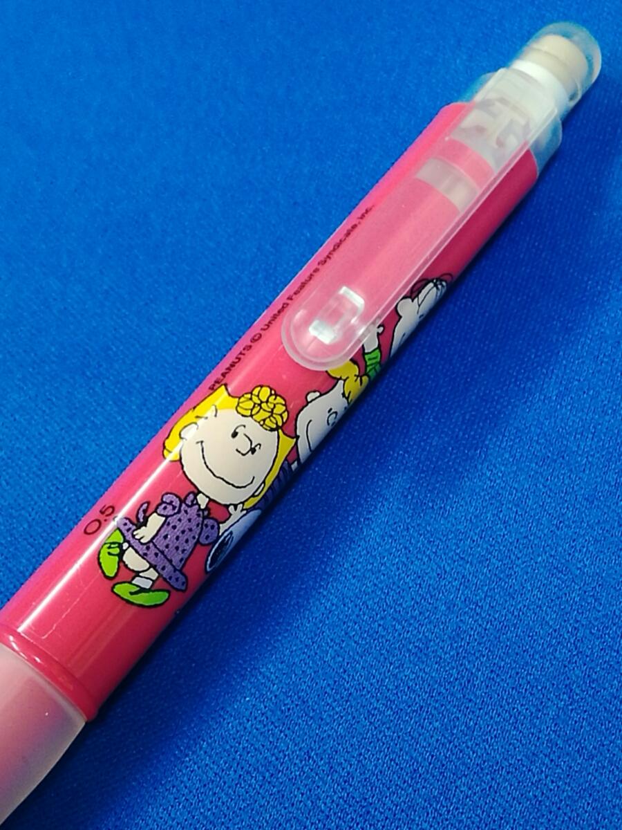 【新品】スヌーピー(SNOOPY)☆ピーナッツ(PEANUTS) シャープペン&消しゴムセット トンボ鉛筆 _画像5