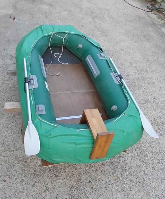 改造パーツ+船底カバーを装着