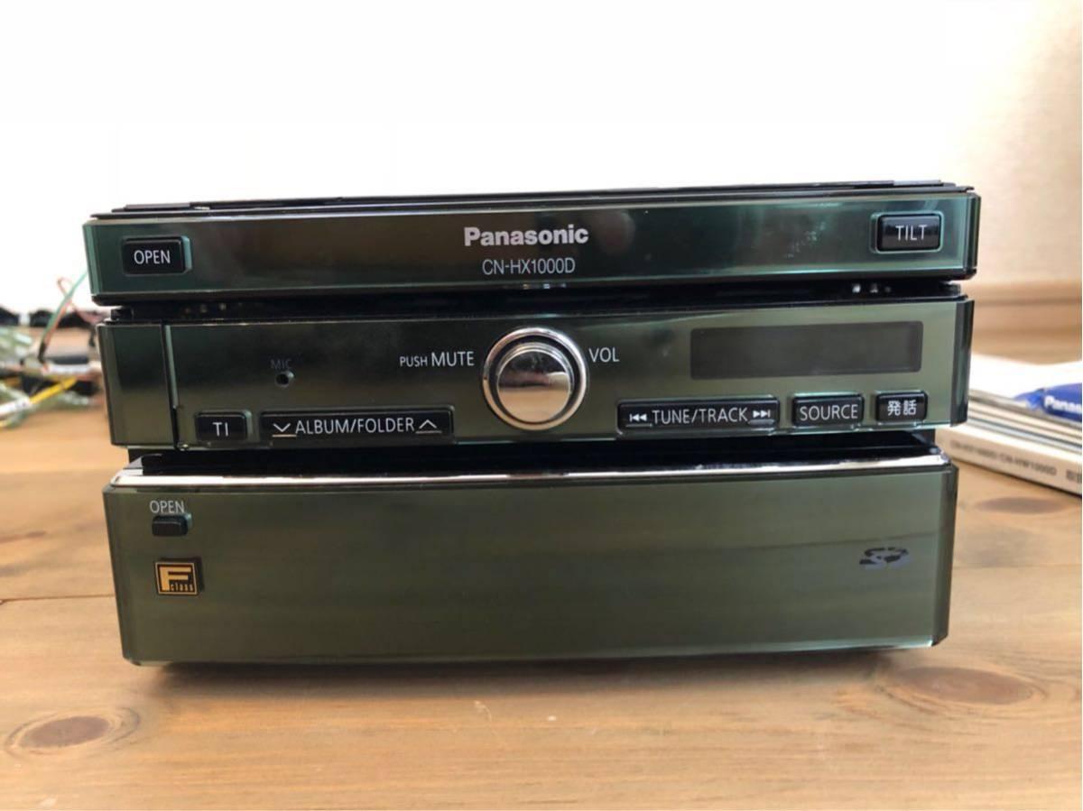 パナソニック HDDナビ ストラーダ FClass CN-HX1000D 新品アンテナフィルム付き_画像4