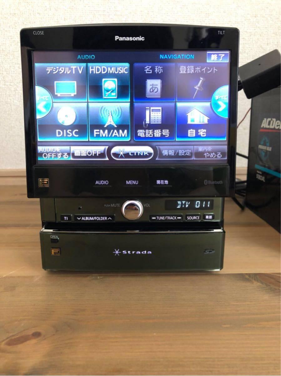 パナソニック HDDナビ ストラーダ FClass CN-HX1000D 新品アンテナフィルム付き