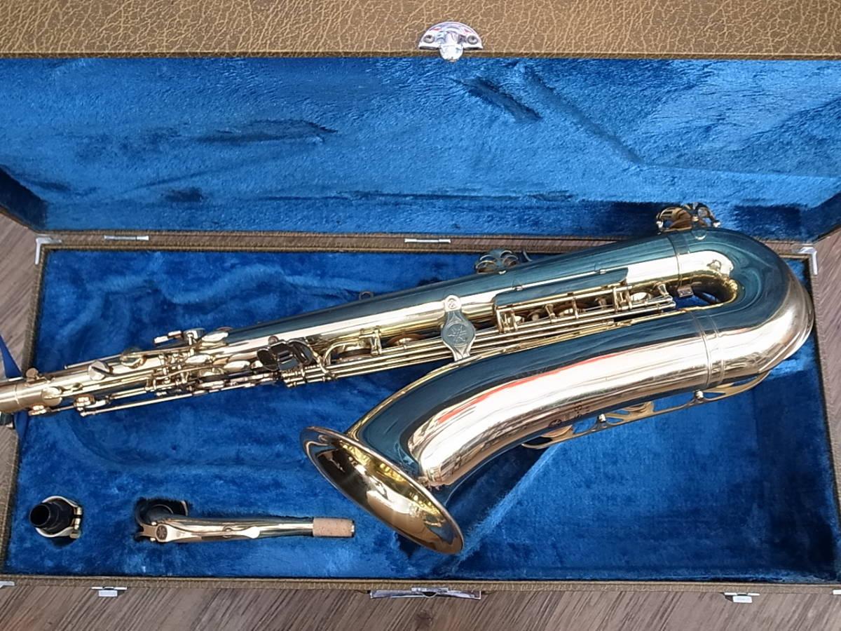 調整メンテナンス済みYTS-31テナーサックスYAMAHAヤマハTenor Sax日本製Made in Japan_画像2