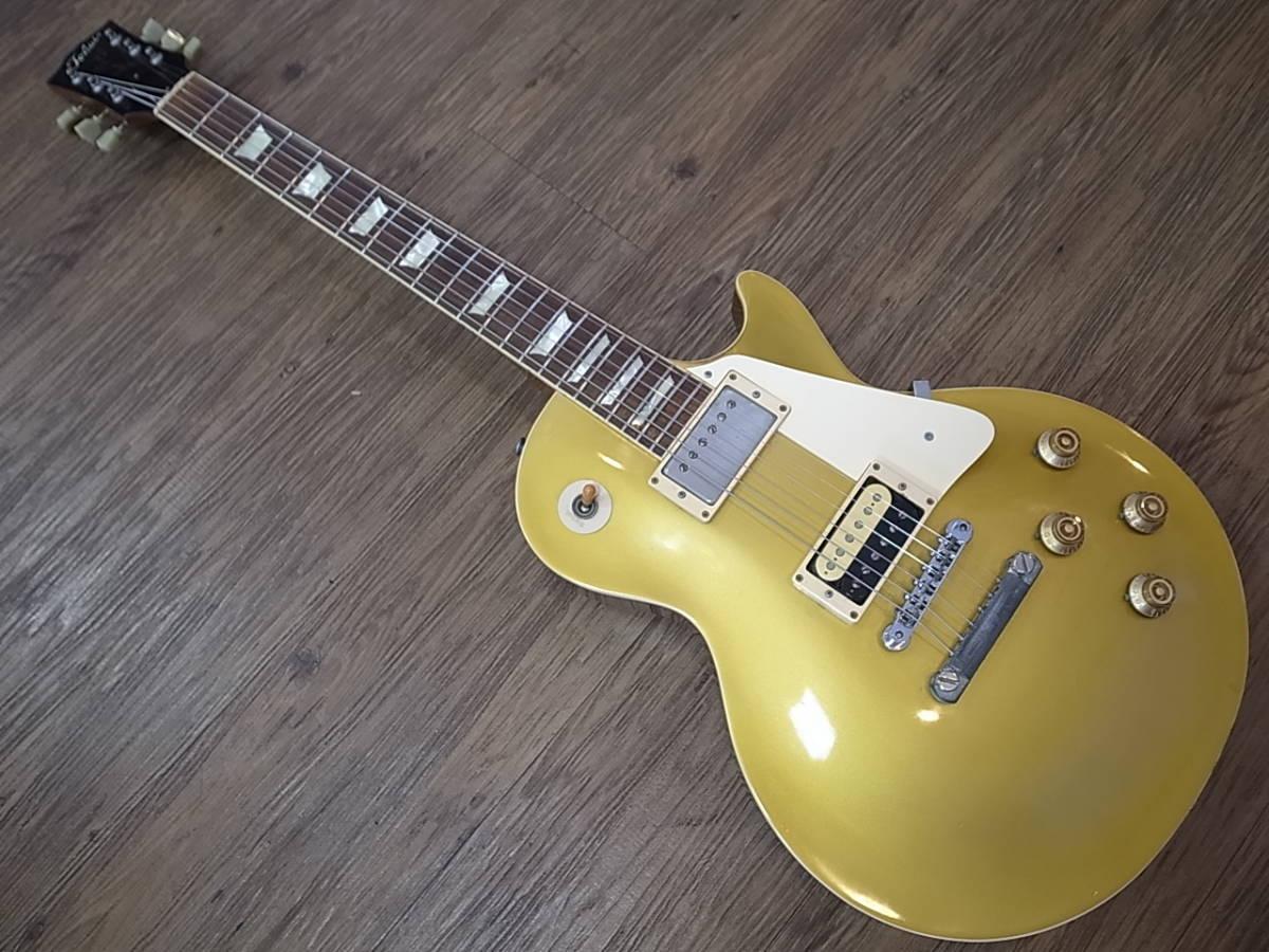 8b8e63e2228d9 rare rare!!1982 year TOKAI LS-80 GT Love Rock Lespaul Gold Top gold ...