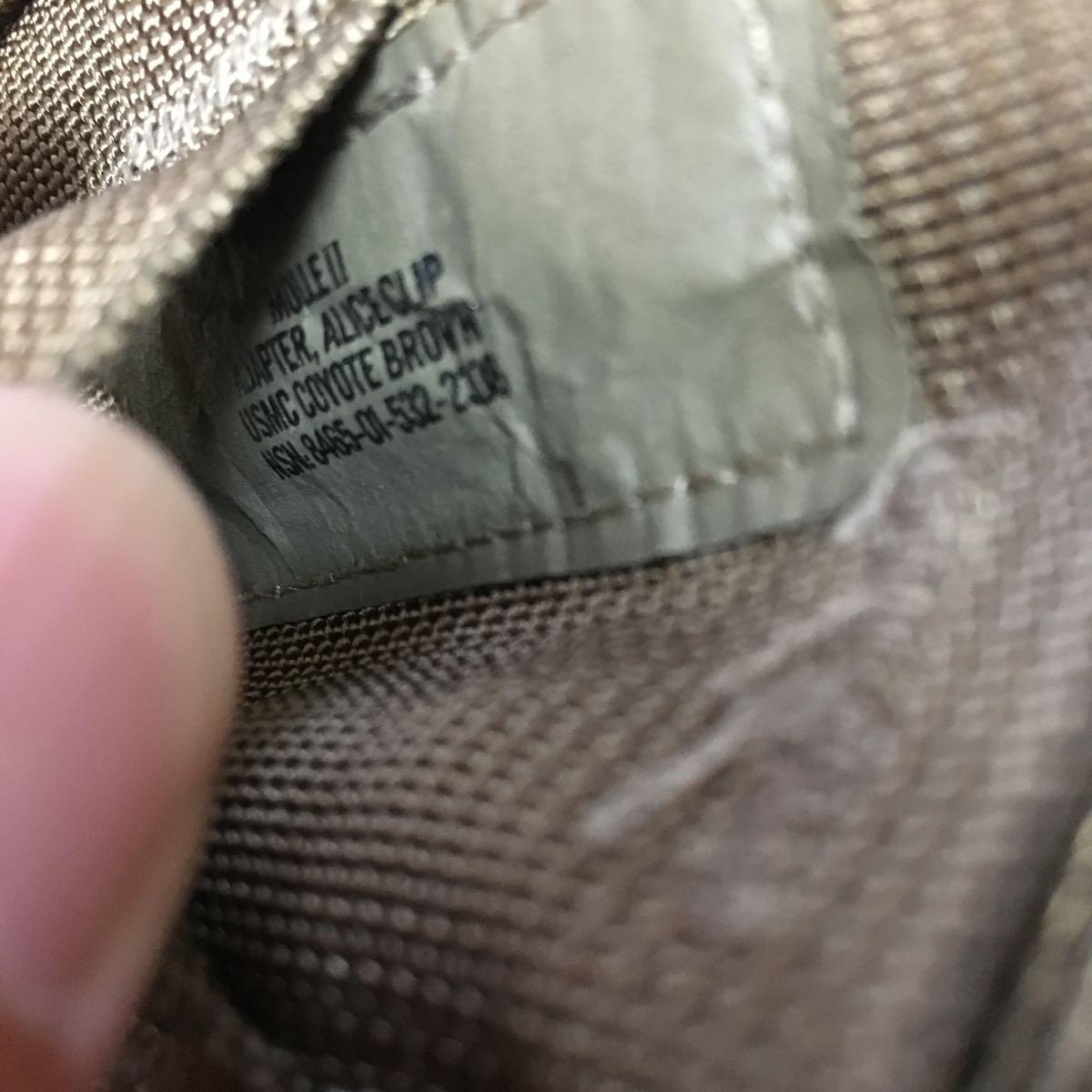 米軍 実物 カスタム 放出品 ポーチ 特殊 部隊 マガジン ポーチ OD_画像4