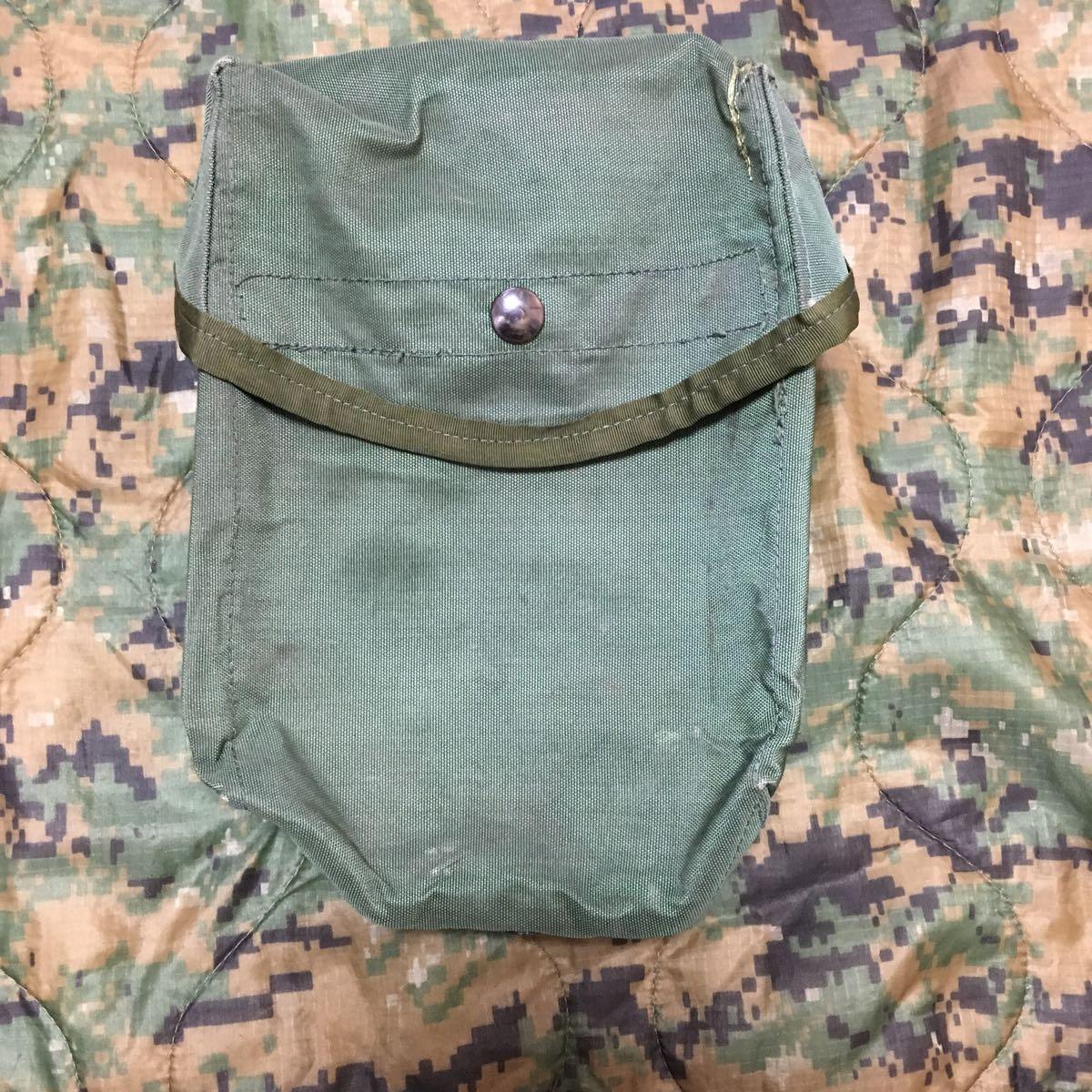 米軍 実物 カスタム 放出品 ポーチ 特殊 部隊 マガジン ポーチ OD_画像1