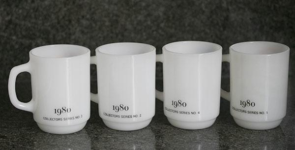 4個ともミント! ファイヤーキング マグ スヌーピー プレジデント アメリカ大統領 4個セット 耐熱 ミルクグラス コーヒー ピーナッツ _画像7