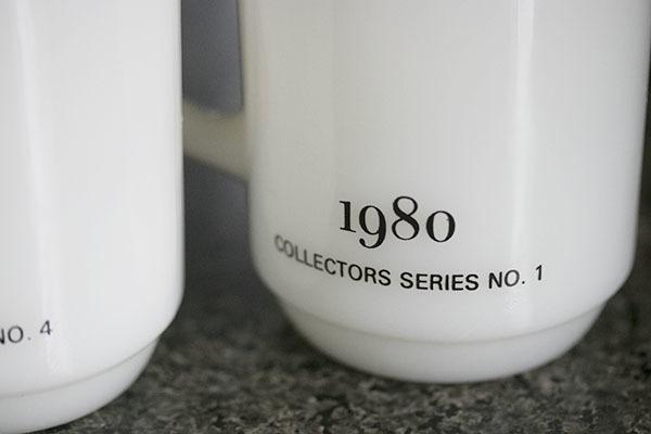 4個ともミント! ファイヤーキング マグ スヌーピー プレジデント アメリカ大統領 4個セット 耐熱 ミルクグラス コーヒー ピーナッツ _画像8
