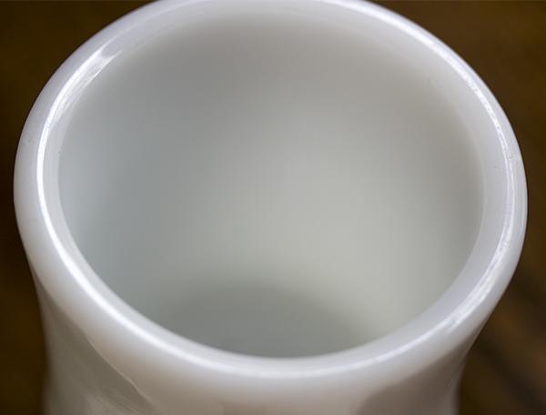 激レア! ファイヤーキング ホワイト エキストラヘビー マグ 美品! 耐熱 ミルクグラス オリジナル 什器 ディスプレイ キッチン 雑貨_画像7