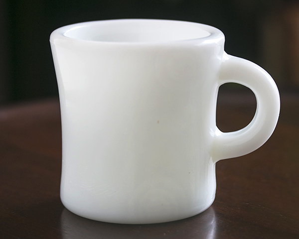 激レア! ファイヤーキング ホワイト エキストラヘビー マグ 美品! 耐熱 ミルクグラス オリジナル 什器 ディスプレイ キッチン 雑貨_画像1