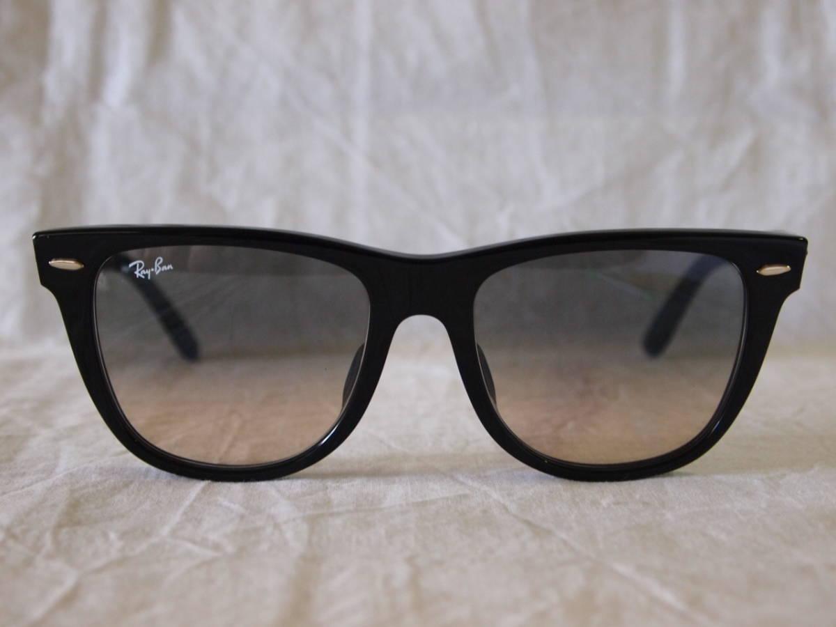 5d1b2c0bd0 RayBan RB2140-F 901 32 black 54 Wayfarer sunglasses   Real Yahoo ...