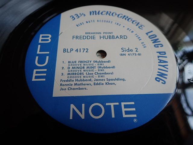 美盤:US Blue Note mono rvg ear Breaking Point / FREDDIE HUBBARD_画像6