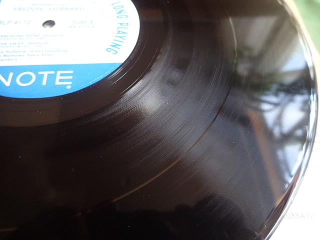 美盤:US Blue Note mono rvg ear Breaking Point / FREDDIE HUBBARD_画像5