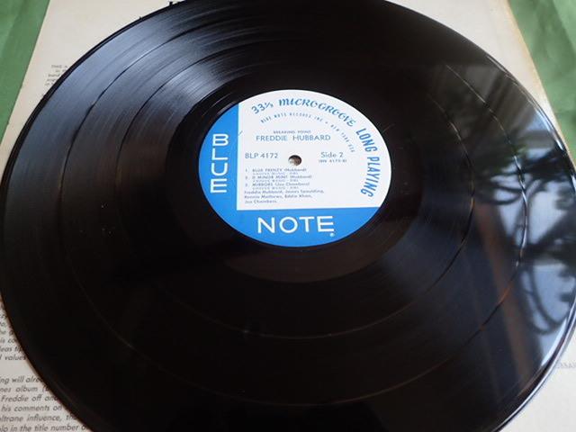 美盤:US Blue Note mono rvg ear Breaking Point / FREDDIE HUBBARD_画像7