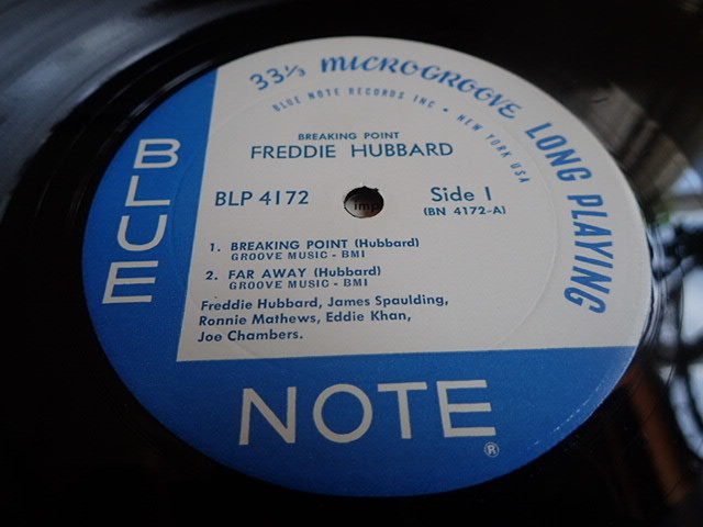美盤:US Blue Note mono rvg ear Breaking Point / FREDDIE HUBBARD_画像3