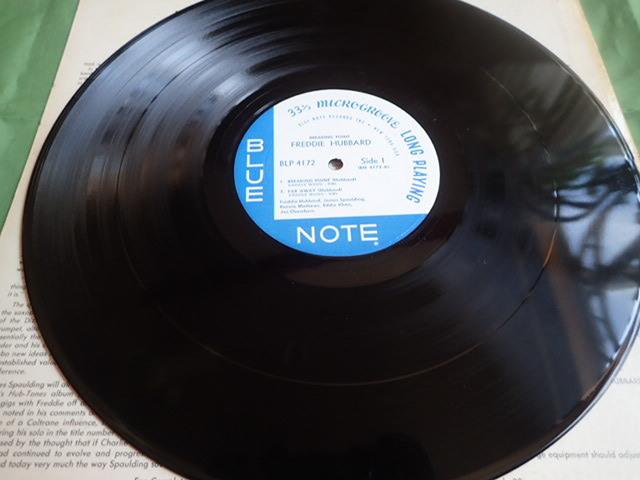 美盤:US Blue Note mono rvg ear Breaking Point / FREDDIE HUBBARD_画像4