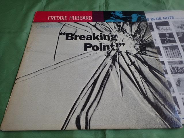 美盤:US Blue Note mono rvg ear Breaking Point / FREDDIE HUBBARD