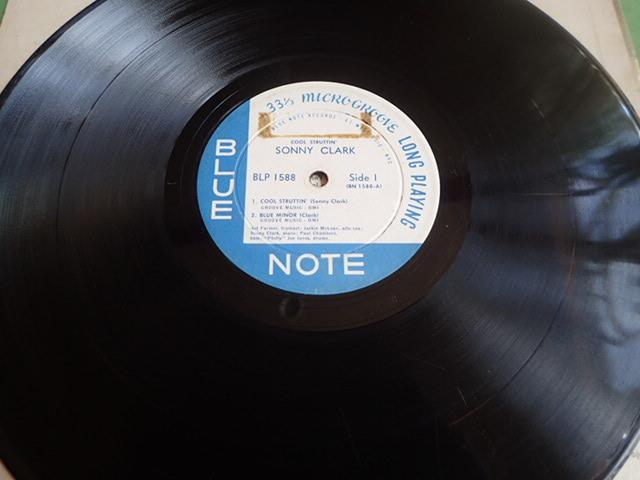 "US Blue Note mono dg rvg ear no""R"" COOL STRUTTIN / SONNY CLARK _画像4"