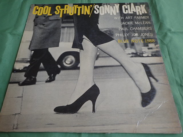 "US Blue Note mono dg rvg ear no""R"" COOL STRUTTIN / SONNY CLARK"