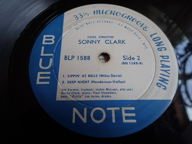 "US Blue Note mono dg rvg ear no""R"" COOL STRUTTIN / SONNY CLARK _画像7"