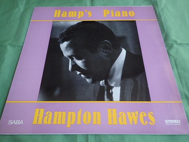 良盤:Germany SABA Hamp's Piano / HAMPTON HAWES