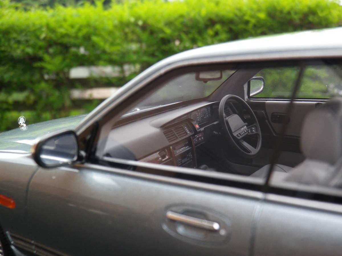 絶版!京商 1/18 限定500台 日産 セドリック CIMA シーマ【 FPY31】 ハイソカー 1988-1991 BLUE KSR18026BL