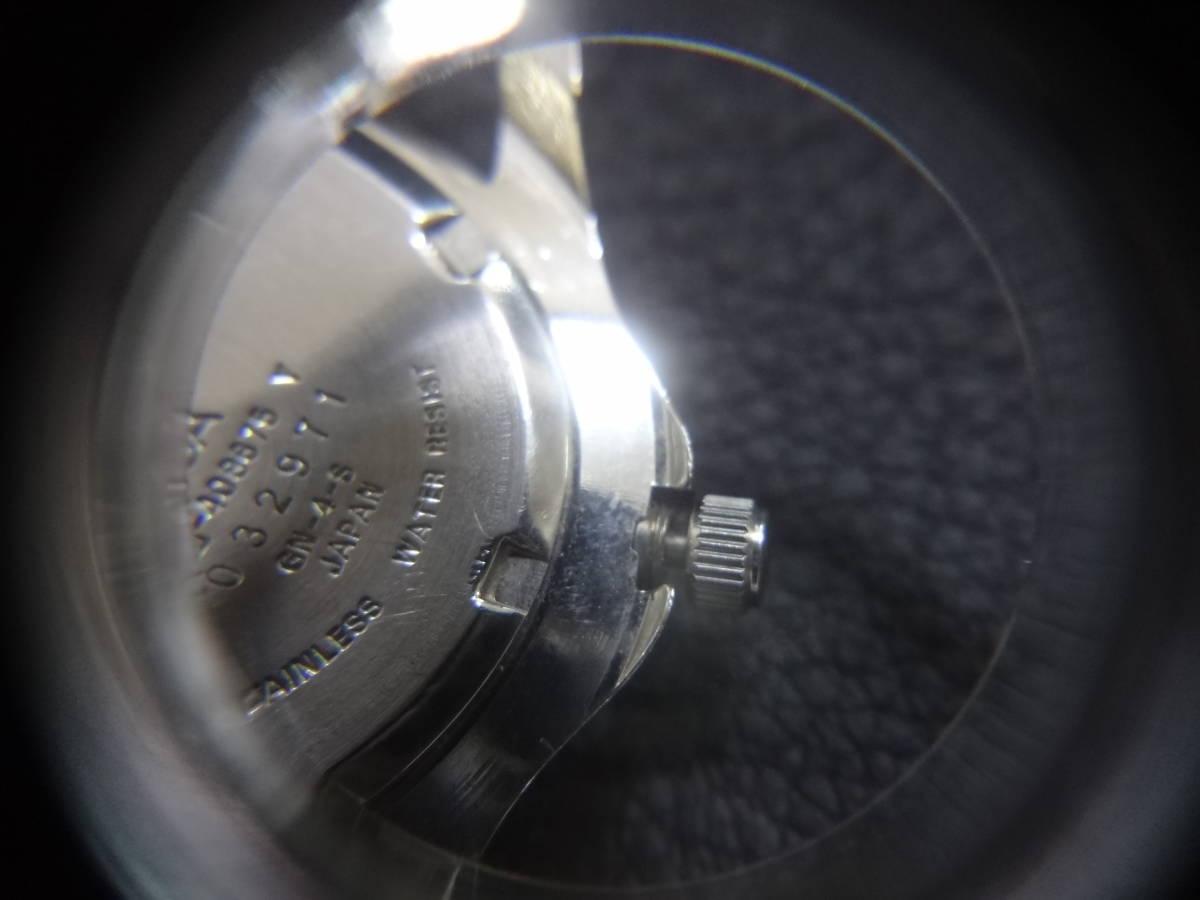 ◇◆ JUN MEN ジュンメン◆CITIZEN VEGA シチズン ダイバー メンズ デイデイト 腕時計 6B00-408675 Y ジャンク_画像8
