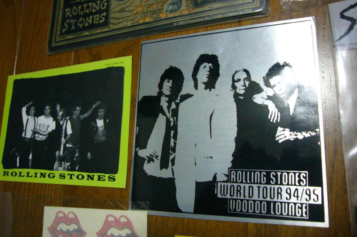 ローリング・ストーンズ The Rolling Stones グッズセット・CD/DVD関連・ステッカー・バッジなど多数◆袋に詰めて!◆未使用品含む◆特価_画像6