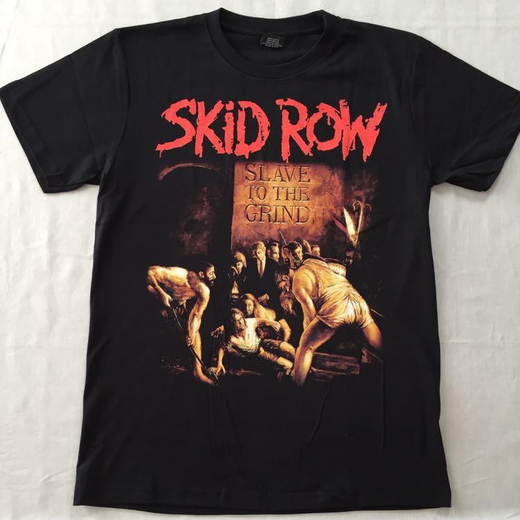 バンドTシャツ スキッドロウ(SKID ROW)新品 L_画像1