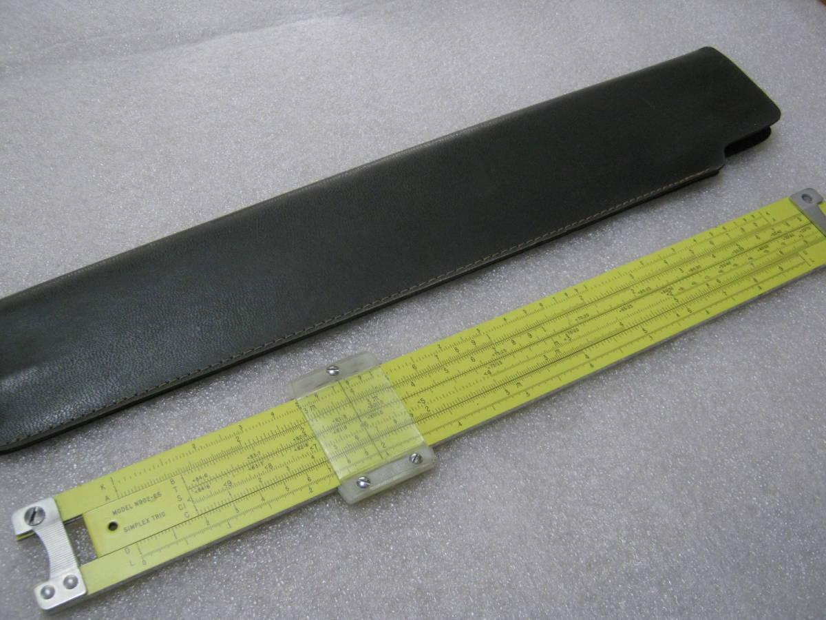 【計算尺】アメリカ PICKETT社 めずらしい総アルミニウム製 フルサイズ Made in USA_画像1