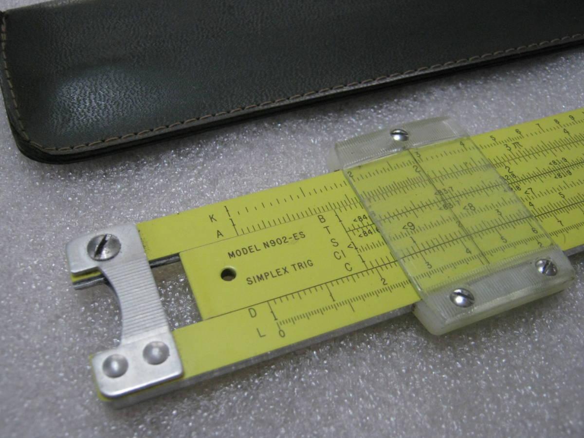 【計算尺】アメリカ PICKETT社 めずらしい総アルミニウム製 フルサイズ Made in USA_画像2