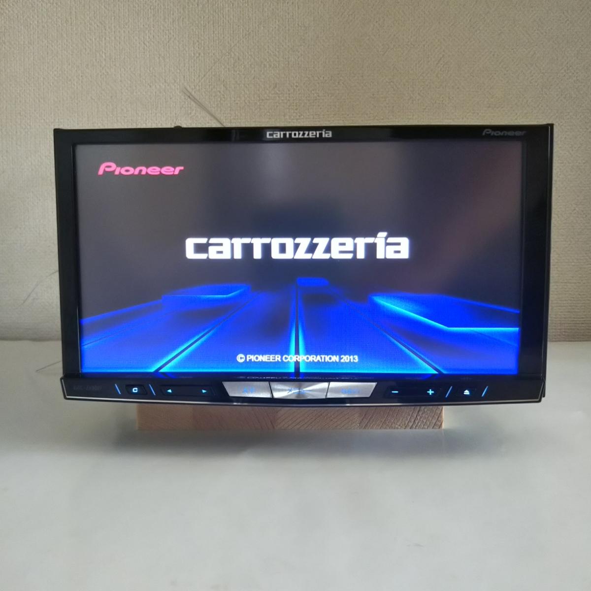 ★☆カロッツェリア・carrozzeria・AVIC-ZH0007<<フルセグ・HDDナビ・DVD再生可>>地図データ2013年☆★