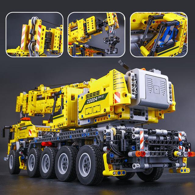 【送料無料!】 レゴ互換品 クレーン車 ブロック おもちゃ レゴ互換 プレゼント 誕生日 知育玩具 新品 人気 即決価格 8_画像1