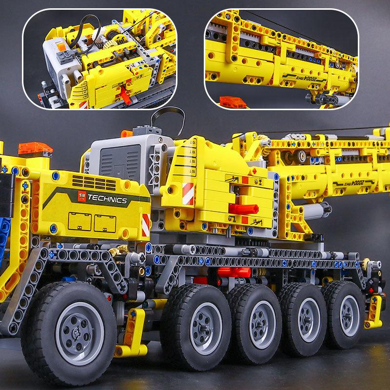 【送料無料!】 レゴ互換品 クレーン車 ブロック おもちゃ レゴ互換 プレゼント 誕生日 知育玩具 新品 人気 即決価格 8_画像4