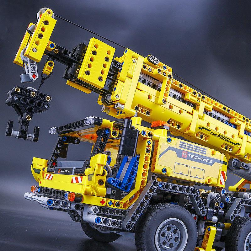 【送料無料!】 レゴ互換品 クレーン車 ブロック おもちゃ レゴ互換 プレゼント 誕生日 知育玩具 新品 人気 即決価格 8_画像5