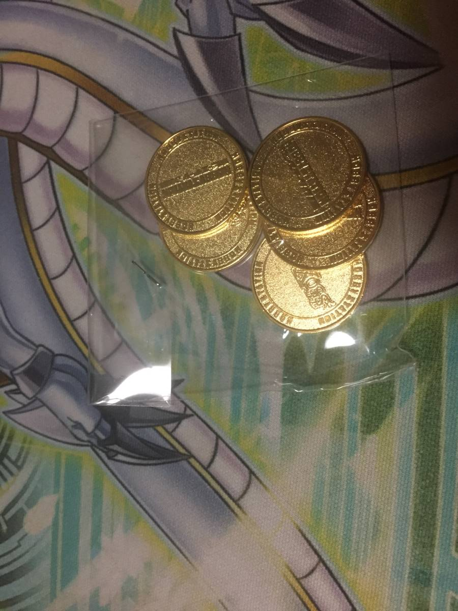 ウィクロス コイン ホビーステーション ホビステ 公式品 非売品 未開封 5枚セット