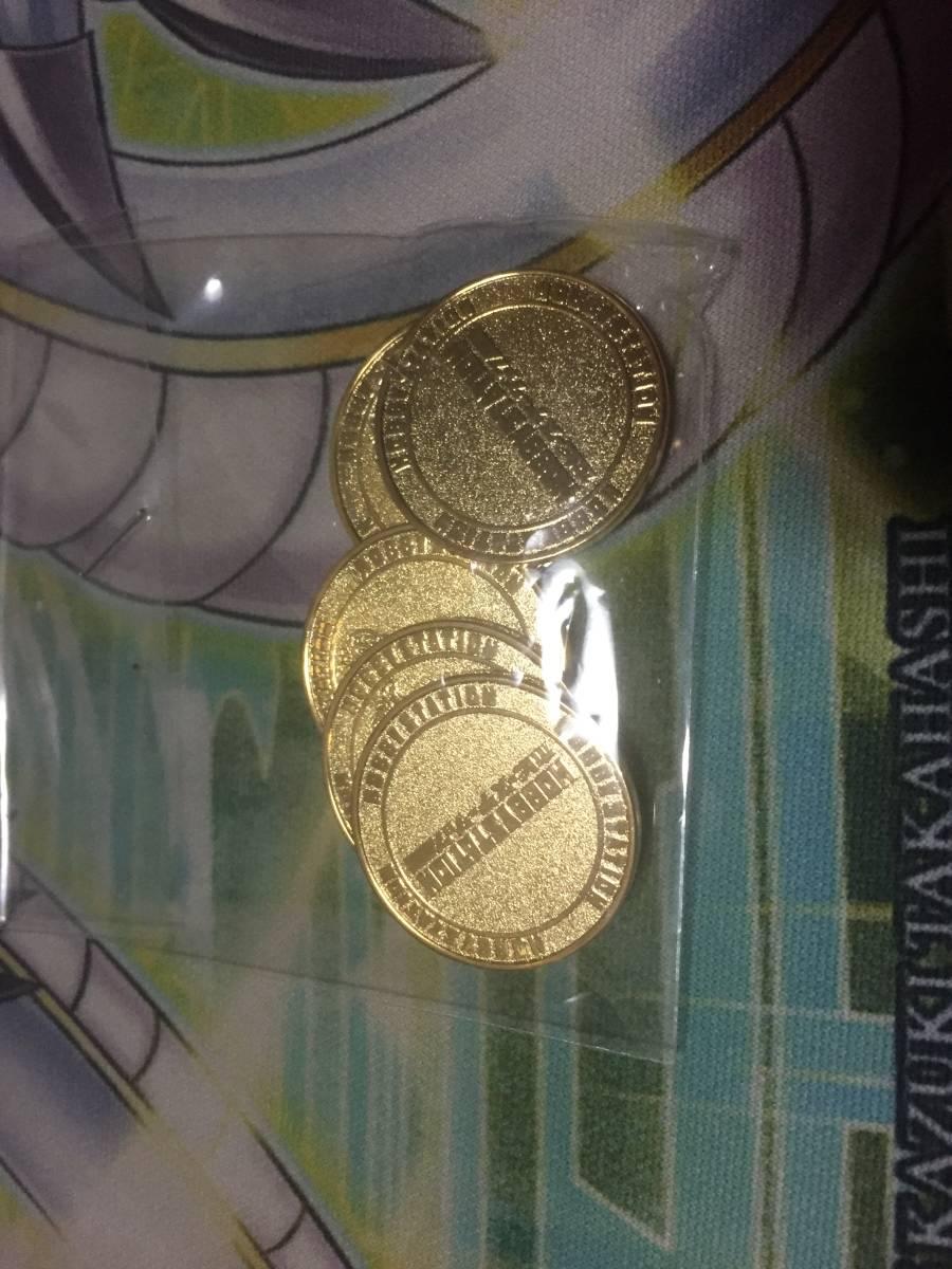 ウィクロス コイン ホビーステーション ホビステ 公式品 非売品 未開封 5枚セット_画像2