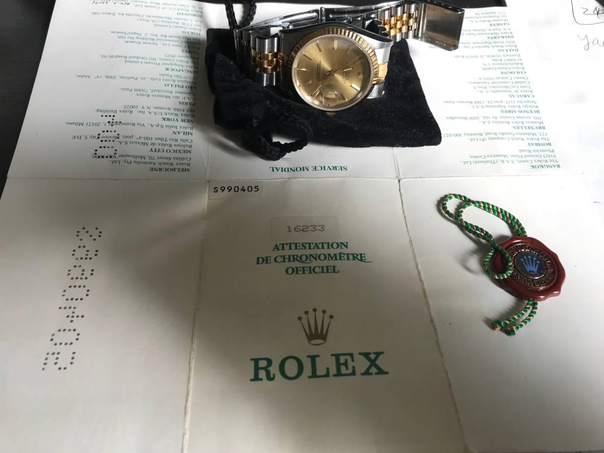 ★★★ ロレックス デイトジャスト 腕時計 メンズ16233 自動巻き ★★★_画像7
