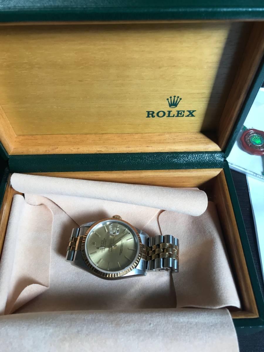 ★★★ ロレックス デイトジャスト 腕時計 メンズ16233 自動巻き ★★★_画像8