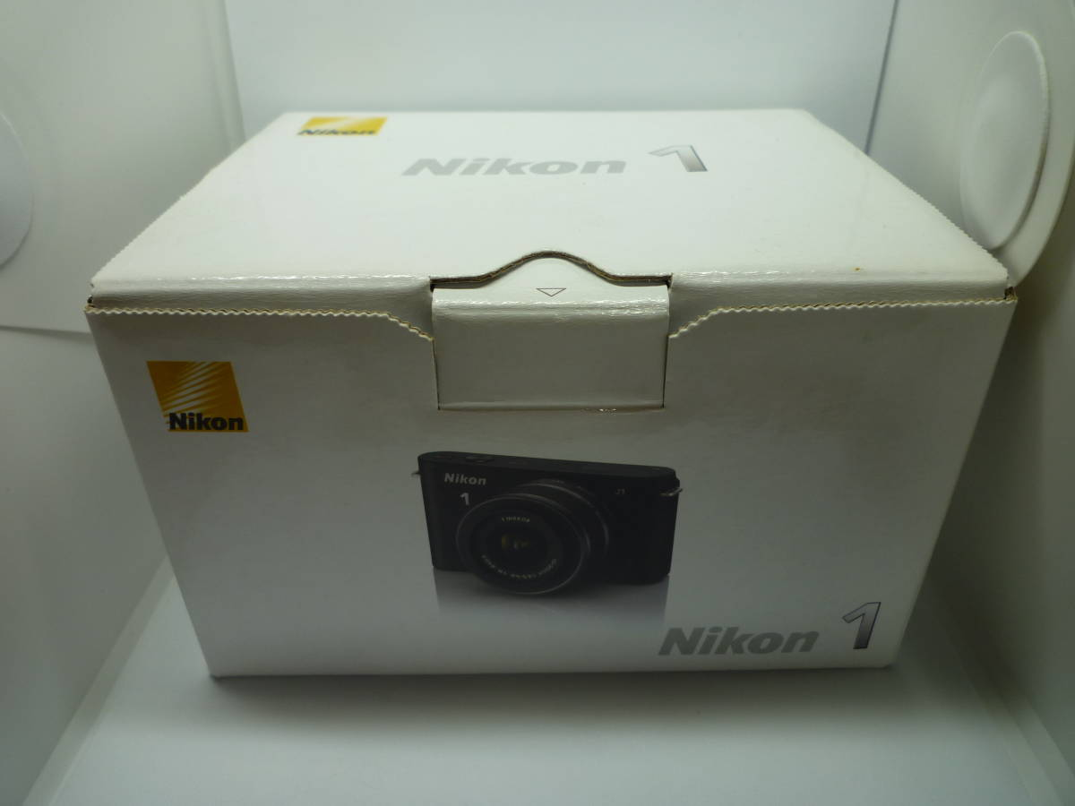 【中古】 Nikon ミラーレス一眼カメラ Nikon 1 J1 標準ズームレンズキット ブラック_画像6