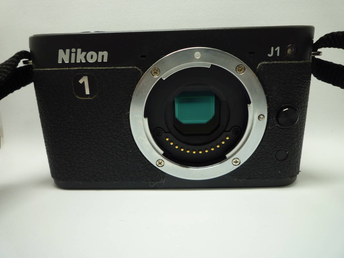 【中古】 Nikon ミラーレス一眼カメラ Nikon 1 J1 標準ズームレンズキット ブラック