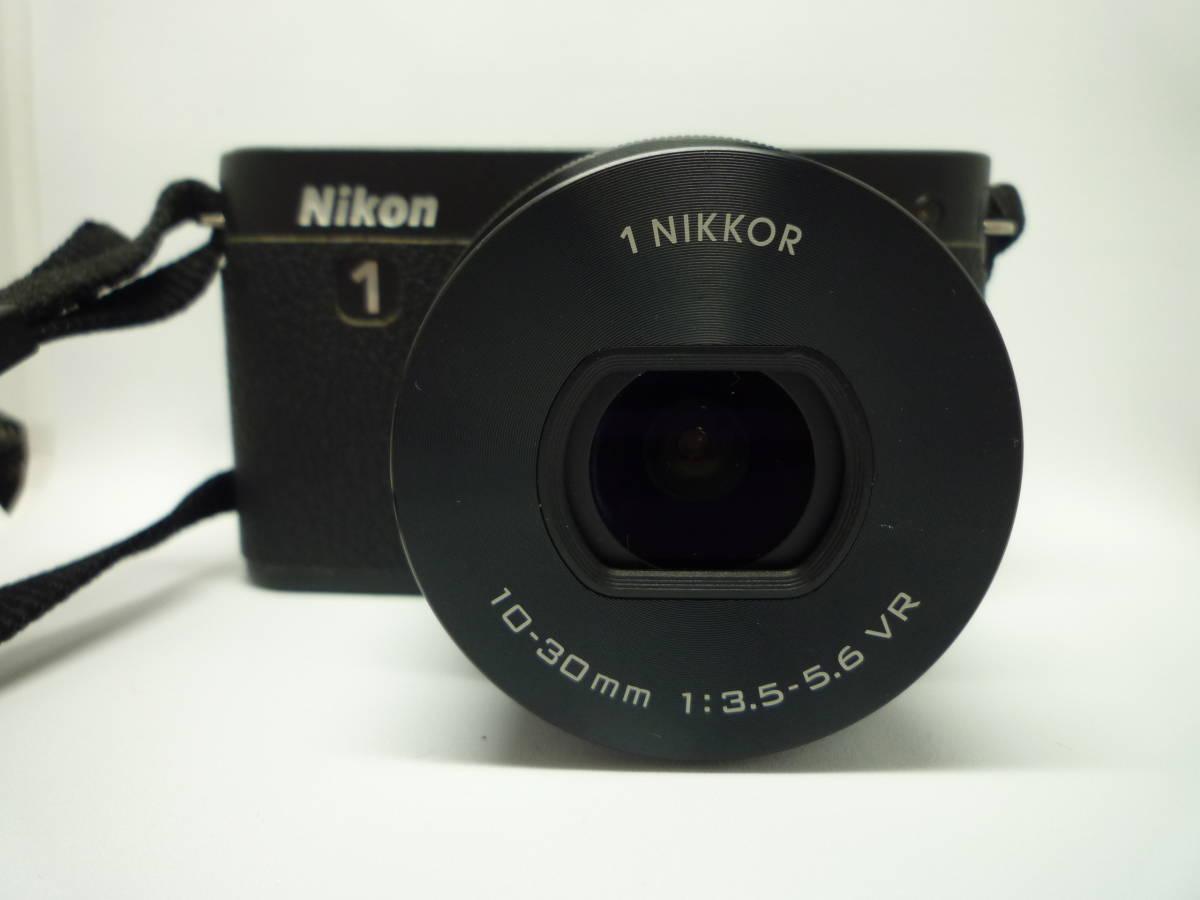 【中古】 Nikon ミラーレス一眼カメラ Nikon 1 J1 標準ズームレンズキット ブラック_画像3