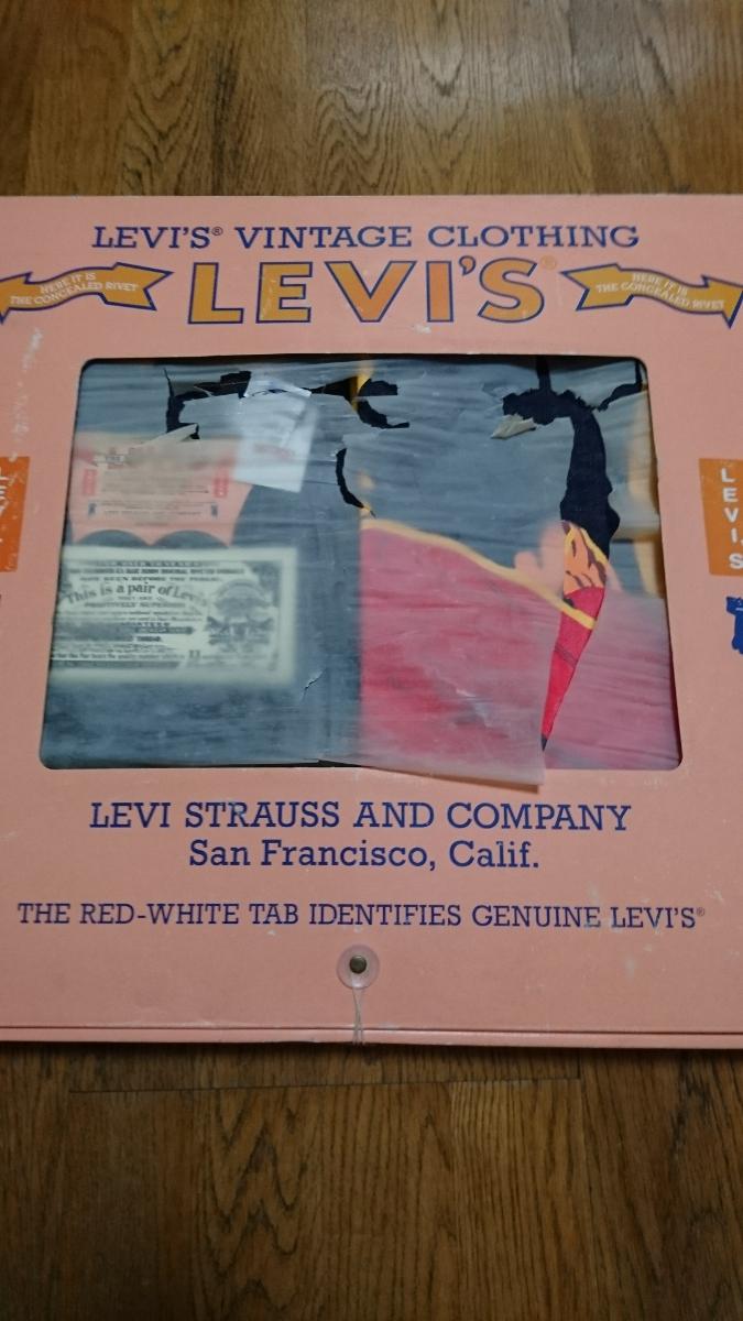 Levi's リーバイス 501XX 50s W33 箱入り 限定 デットストック バナー 付き 55501_画像8